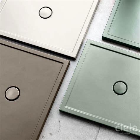 piatti doccia ceramica piatti doccia colorati di design ceramica cielo