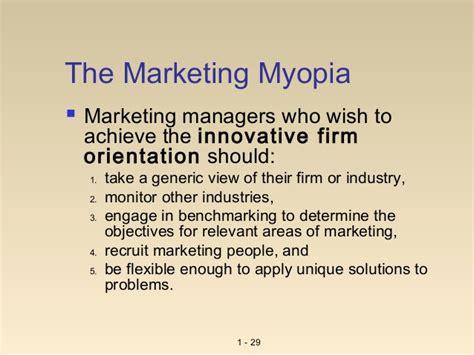 Flex Mba Meaning by U 1 1 Mm 1 Marketing Myopia