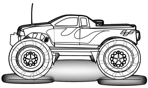 grave digger truck coloring pages grave digger truck coloring sheet 187 coloring pages