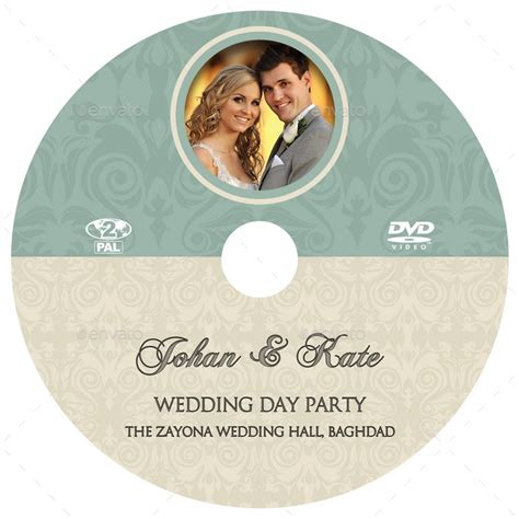 wedding dvd cover and dvd label template vol 8 by