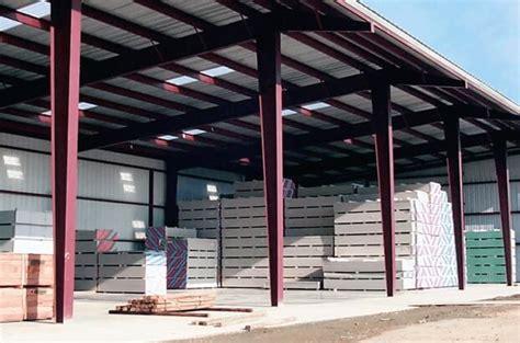 sided sheds  lbm businesses sunbelt rack