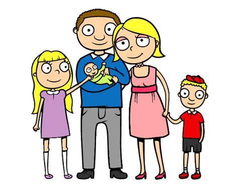 imagenes de la familia en dibujos image gallery dibujo familia