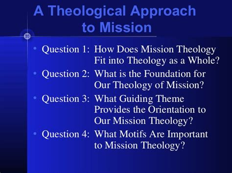 participating in god s mission a theological missiology for the church in america the gospel and our culture series gocs books ath 610 chapter 5