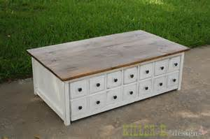 apothecary coffee table white apothecary coffee table with toybox trundle