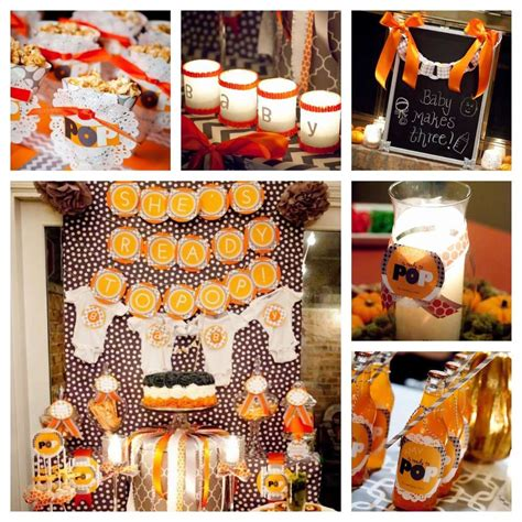 fall evening couples baby shower baby shower ideas