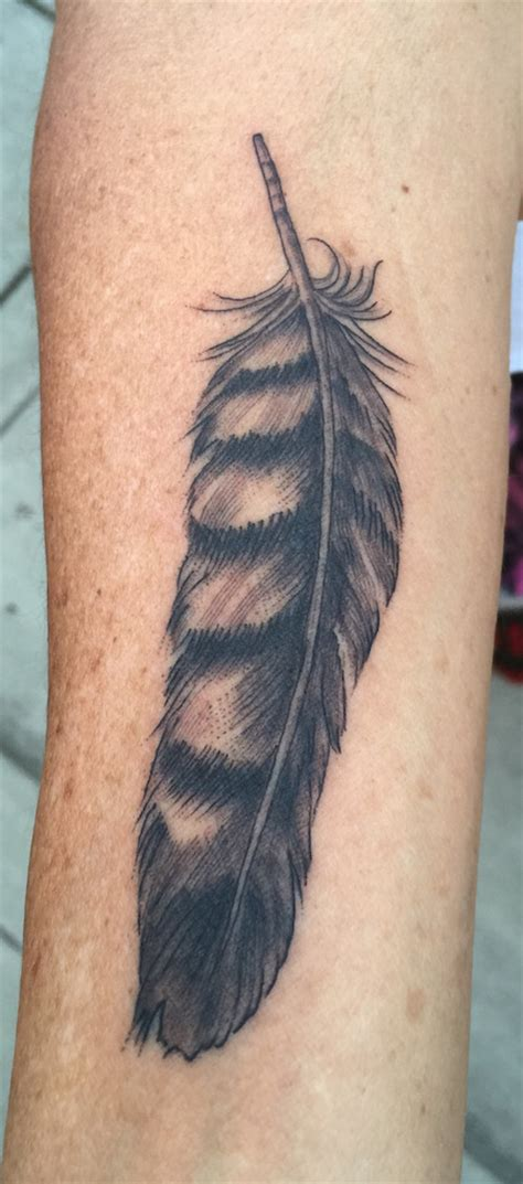 feather by ron nelson yeahtattoos com