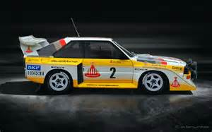 Walter Röhrl Audi Quattro S1 Audi Quattro Sport S1 Gruppe B 1985 1986 Walter R 246 Hrl U