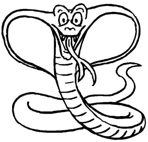 printable coloring page king cobra king cobra coloring page free printable animals shelby