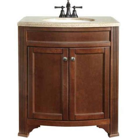 30 In Bathroom Vanity Lowes Deal Style Selections 30 3 4 In Delyse Java