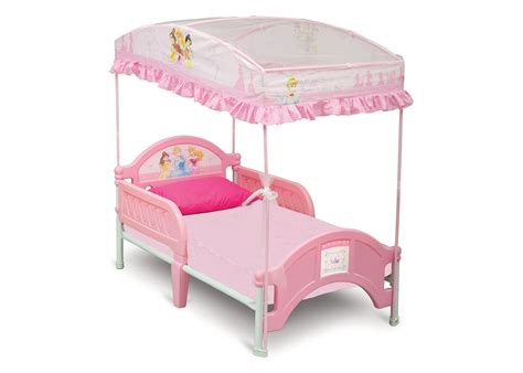 Princess Toddler Canopy Bed Delta Children S Products Delta Disney Princess Bed