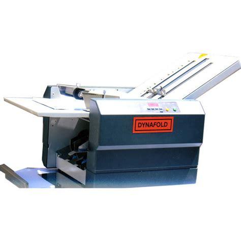 Paper Folding Machine 11x17 - dynafold model de 42fc paper folder
