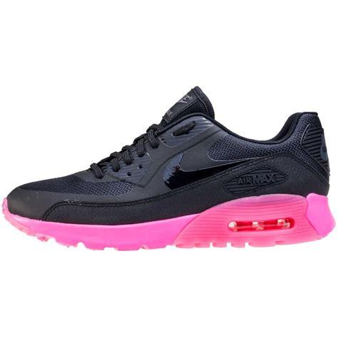 Nike Airmax T90 Black Pink nike air max 90 ultra womens trainers in black pink