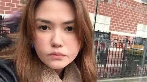 angelica panganiban hair 2016 angelica panganiban follows derek on ig stirs breakup
