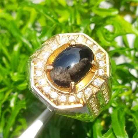 Cincin Batu Mustika Air 04 cincin mustika bulu macan pusaka dunia