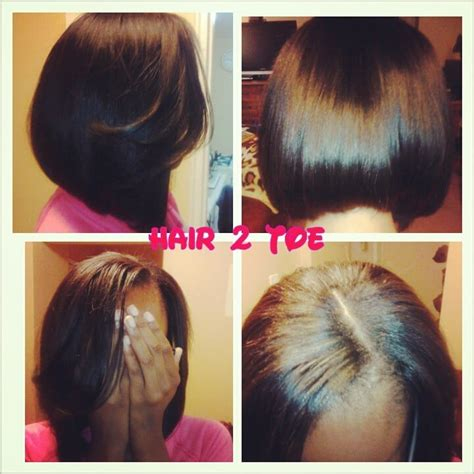 phot gallery short hair sew in bob haircut partial sew in yelp