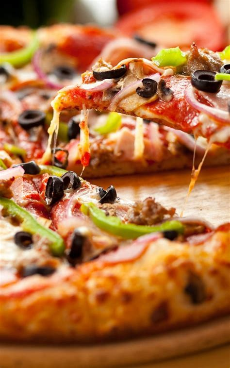Slice Of Pizza Android Wallpaper free download