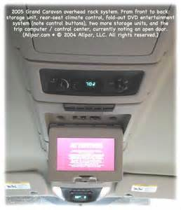 2005 Chrysler Town And Country Dvd Player 2001 2007 Chrysler Town Country Voyager And Dodge