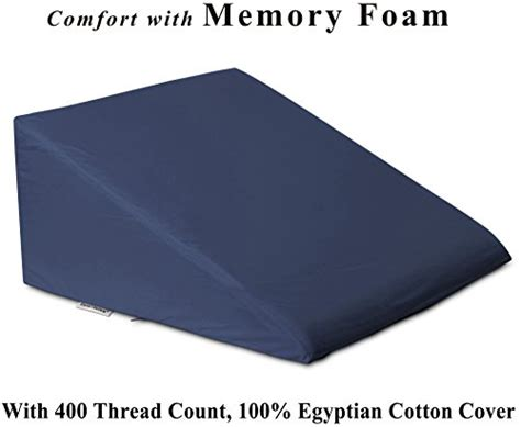 intevision foam wedge bed pillow intevision foam wedge bed pillow 25 x 24 x 12 with