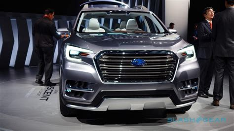 subaru suv concept interior this striking 7 seat concept previews subaru s ascent suv