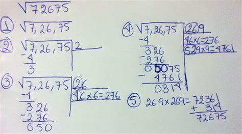 resolver raices cuadradas aprender a resolver ra 237 ces cuadradas