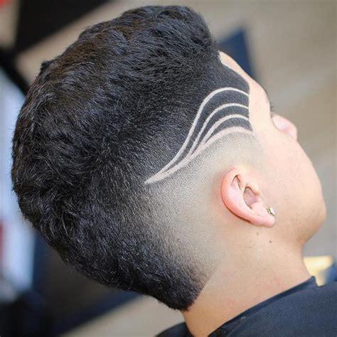 mohawk designs line mohawk with line design barbershopconnect com