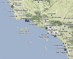coastal map of southern california coastal upwelling and harmful algal blooms in southern