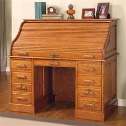 oak craft roll top desk furniture deluxe oak finish roll top stylish computer