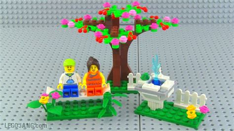 Premium Lego 40052 Springtime lego 40052 springtime mini set review