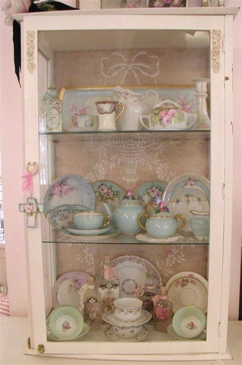 small shabby chic china cabinet pin by jillie on shabby chic china display