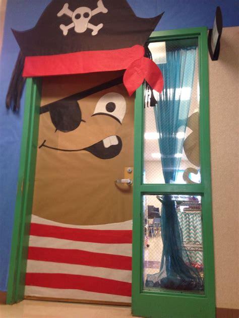 pirate themed door decorations pirate door door decorating for my classroom