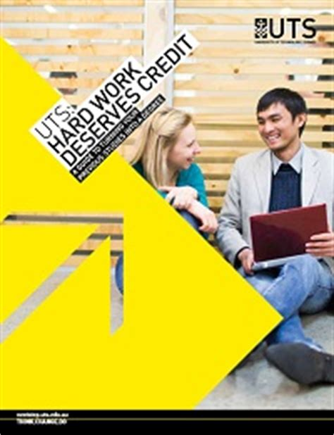 Credit Recognition Application Form Uts Am I A Non Current School Leaver Of Technology Sydney
