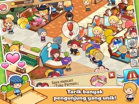 donwload game happy mall story mod happy mall story game sim apl android di google play