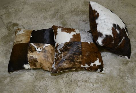 Patchwork Cowhide cowhide pillows 98 cows