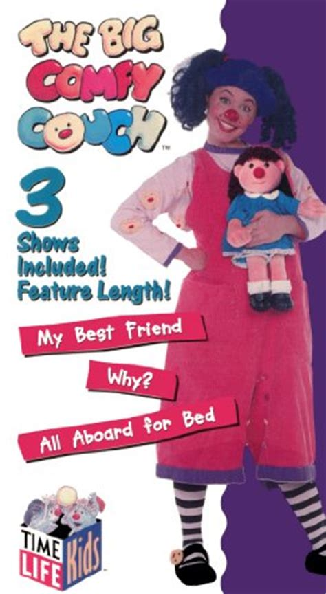 big comfy couch all aboard for bed the big comfy couch my best friend why all aboard for