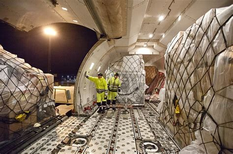cargo planes are loaded and unloaded around the clock in cph welcome on board cph gate to