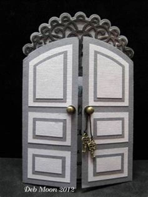 door template card 1000 images about cards folds vert gate accordion