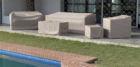 fundas para mobiliario de jardin funda mobiliario jardin rinconera modelo fl 800 noagarden