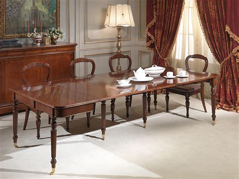 tavoli allungabili classici tavolo consolle classico allungabile completamente