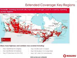rogers canada coverage map rogers launching domestic roaming on march 4th here s the