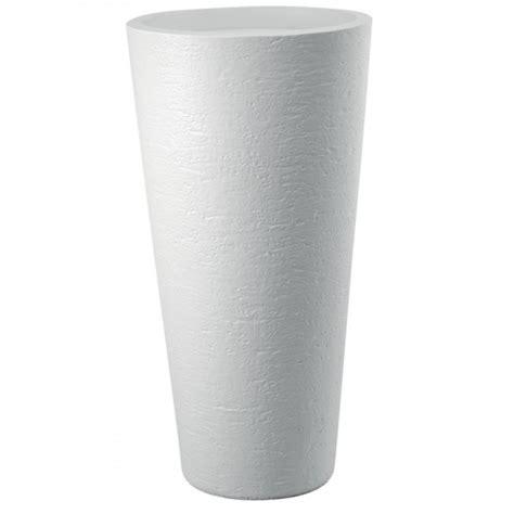 vaso resina bianco vaso resina tirso plus bianco d 40 h 80