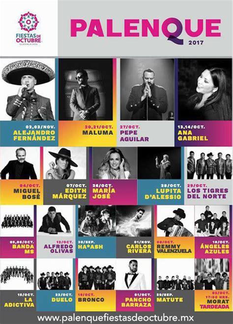 octubre fallecidos artistas 2016 fiestas de octubre guadalajara 2018 programa