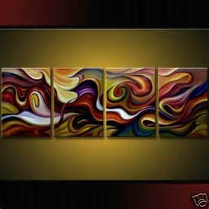 modern wall painting 4piece modern abstract painting canvas wall