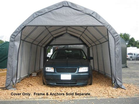 Shelterlogic Garage Replacement Covers by Shelterlogic Replacement Cover Kit 12x20x9 Barn Style