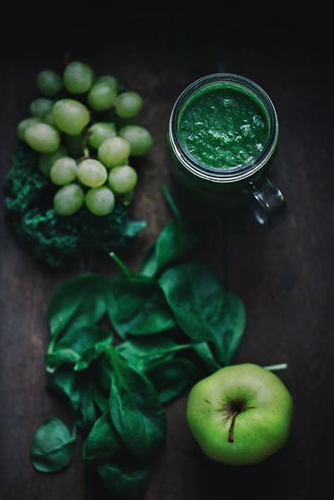 Detox Water With Apples And Grapes by Kale Grape Apple Detox Smoothie