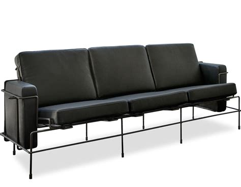 divan couch magis traffic three seat sofa hivemodern com