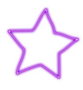 imagenes png neon creative photoscape fios de luz estrelas