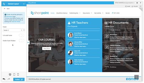 sharepoint themes builder sharepoint themes branding software shortpoint theme