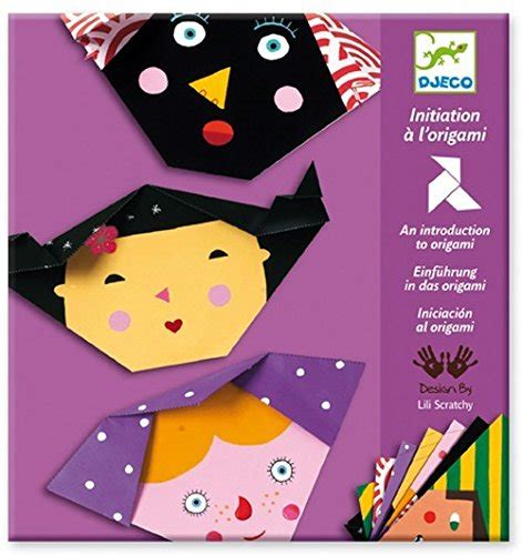Introduction To Origami - djeco introduction to origami faces
