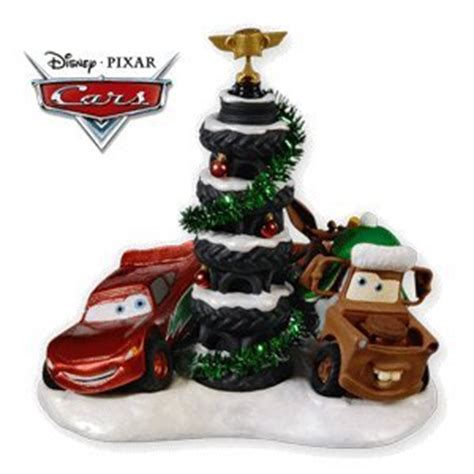 amazon com piston cup tire tree disney cars 2010 hallmark