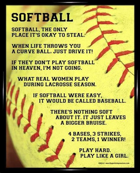 printable softball quotes fastpitch softball coach quotes quotesgram